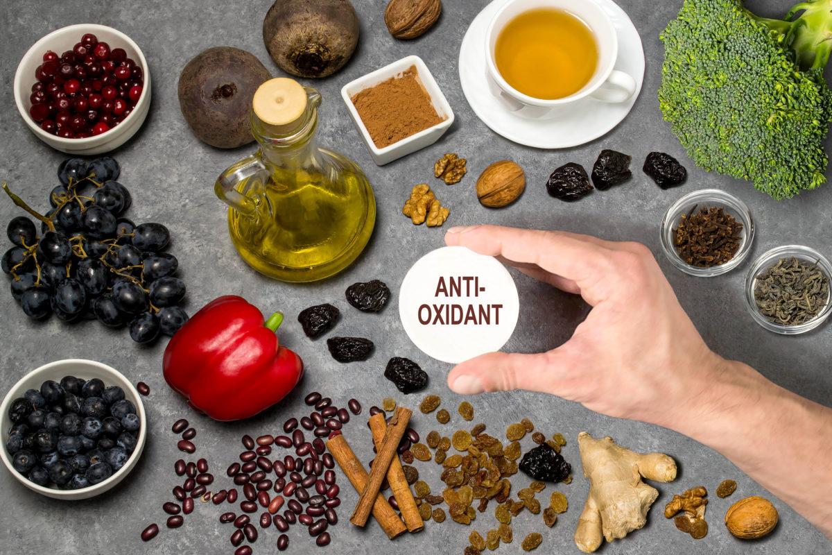 Les antioxydants contre le vieillissement prématuré